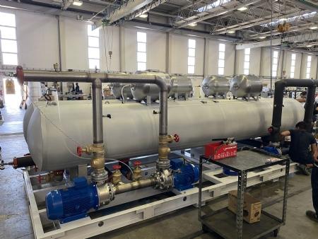 Horos Klimaattechniek levert 6000L RVS316 hydraulische module als systeem