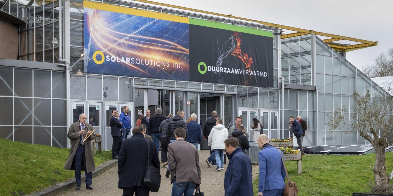 Vakbeurzen Duurzaam Verwarmd en Solar Solutions International uitgesteld tot september