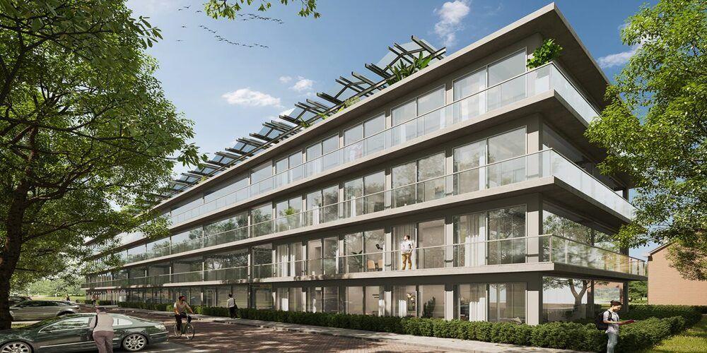 62 passief gekoelde appartementen in Den Bosch