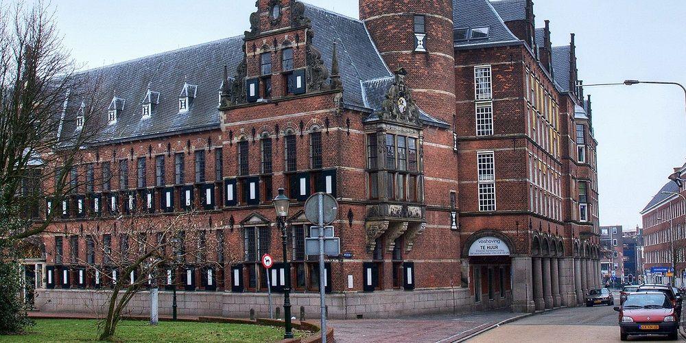 Provinciehuis Groningen verwarmt zich met water uit de gracht
