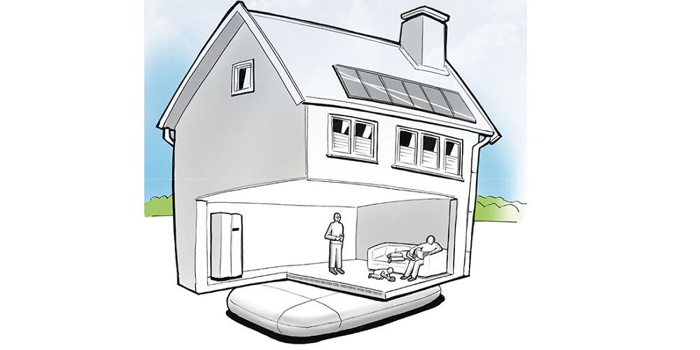 Een SolarFreezer als residentiële power to heat-oplossing