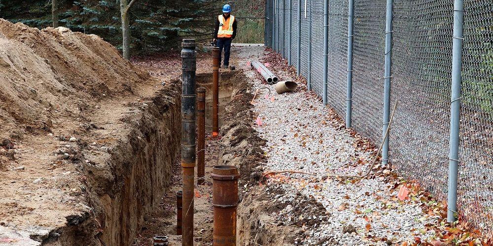 Geothermie bij nieuwbouw met heipalen als bodembron